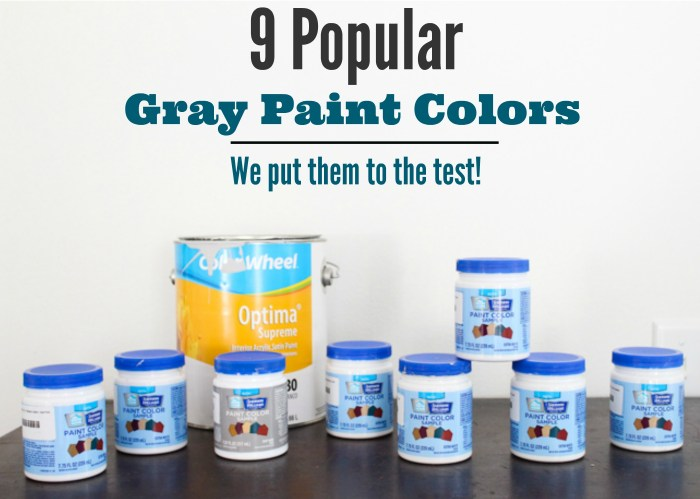 Nine Gray Paint Colors We Put To The Test For Your Home Within The