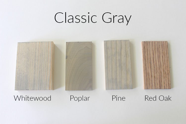 How 10 Different Stains Look On Different Pieces Of Wood Within