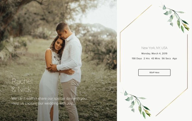 24 Important Questions to Answer in Your Wedding Website FAQ - Joy