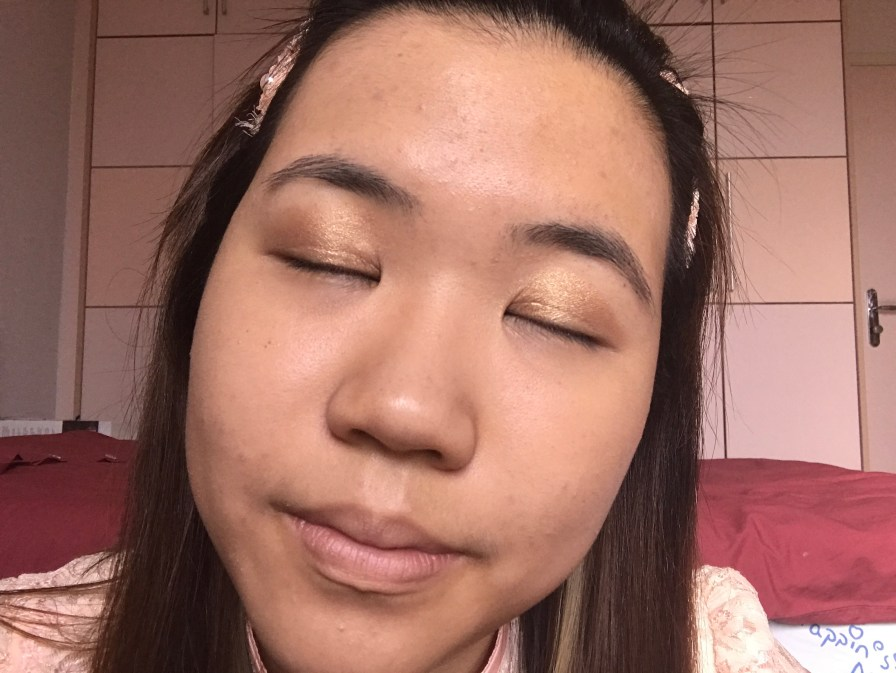 chinese new year makeup look