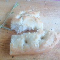 Rosemary and Seasalt Focaccia