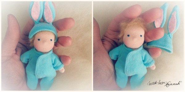 Lit'l Bitty Bit baby boy bunny