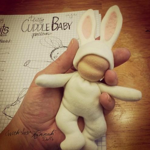 bitty bit doll pattern cuddle baby pattern