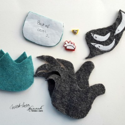 Wool Felt Hen/Chicken Needle Book Pattern & Tutorial