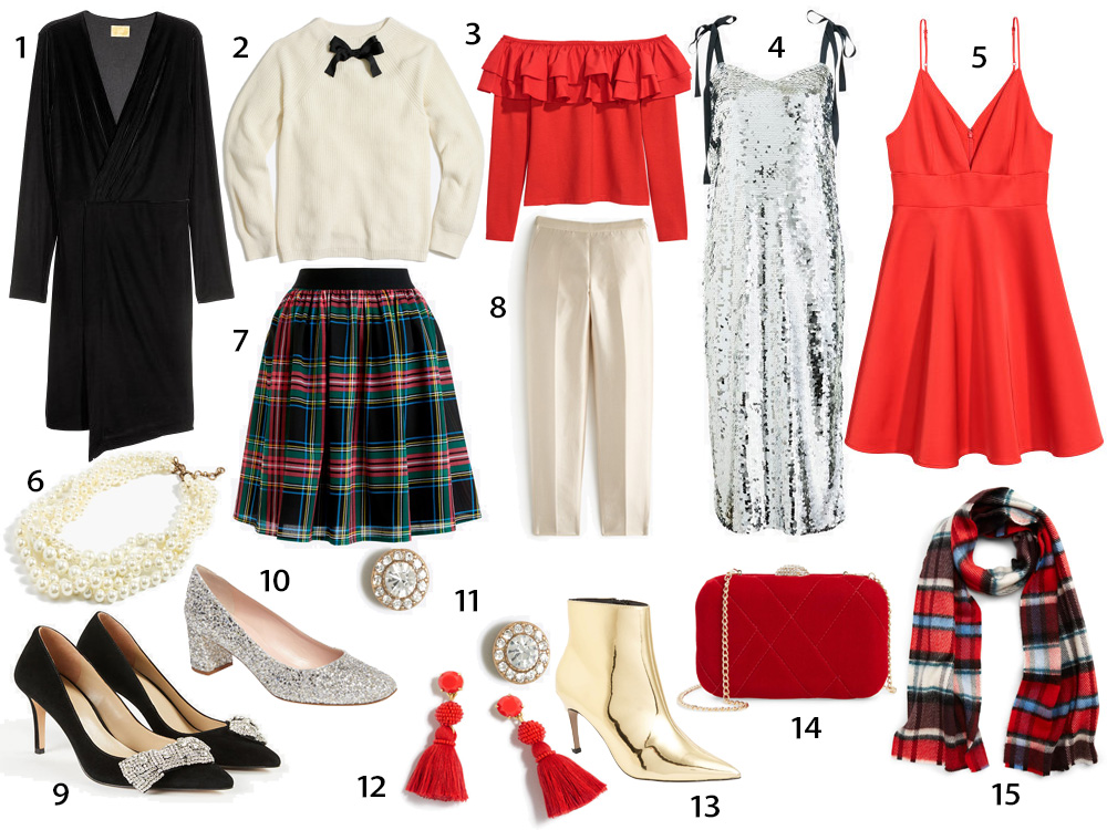 Holiday party outfits style inspo