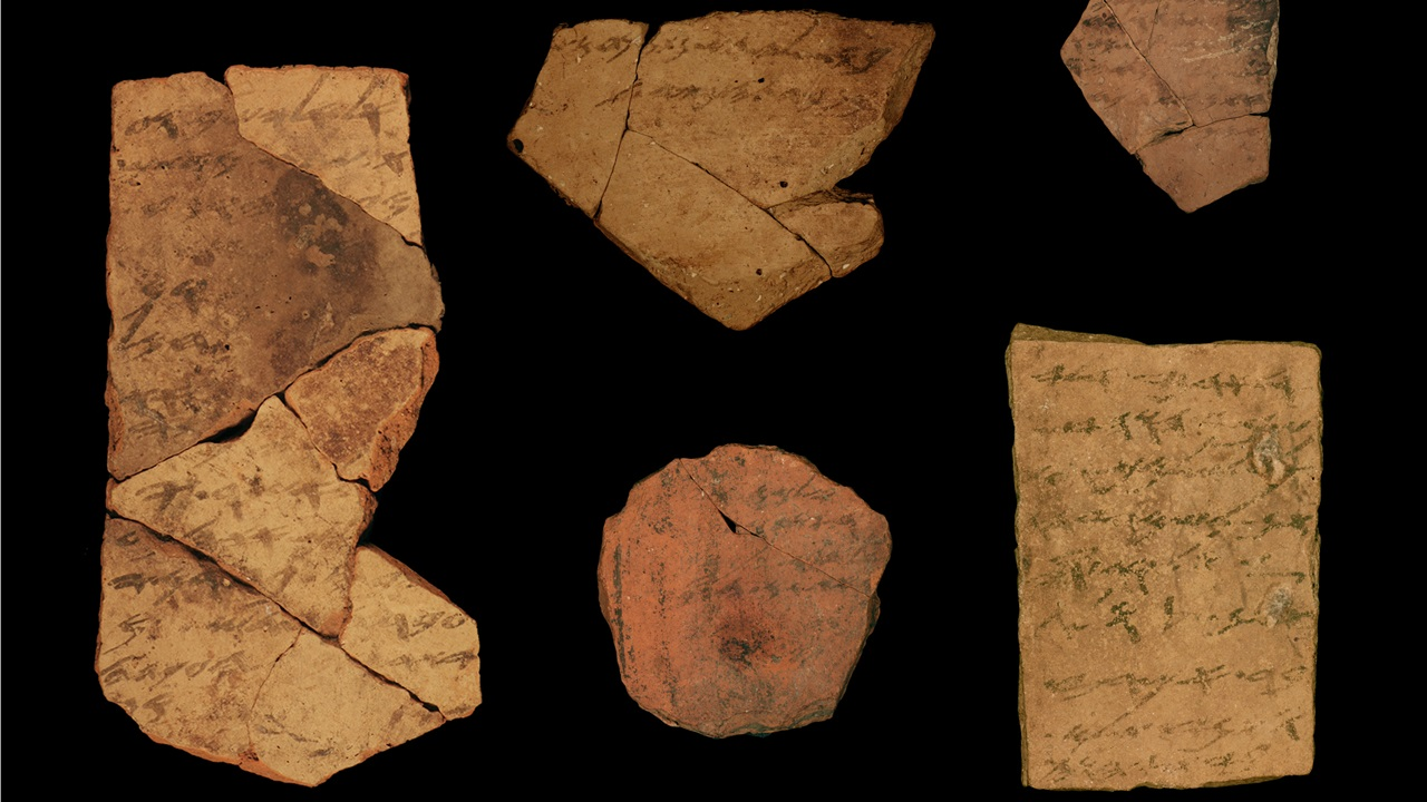 No, those ancient Hebrew 'sticky notes' do not necessarily prove the Bible was written early