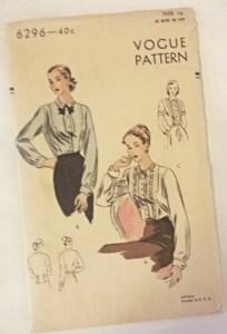 Vogue 6296 pattern