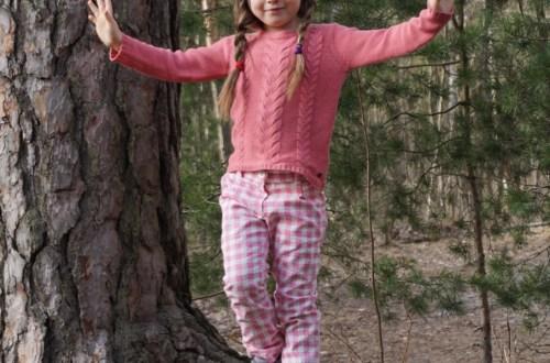 Mini Sun trousers in Ottobre Design 1/2016