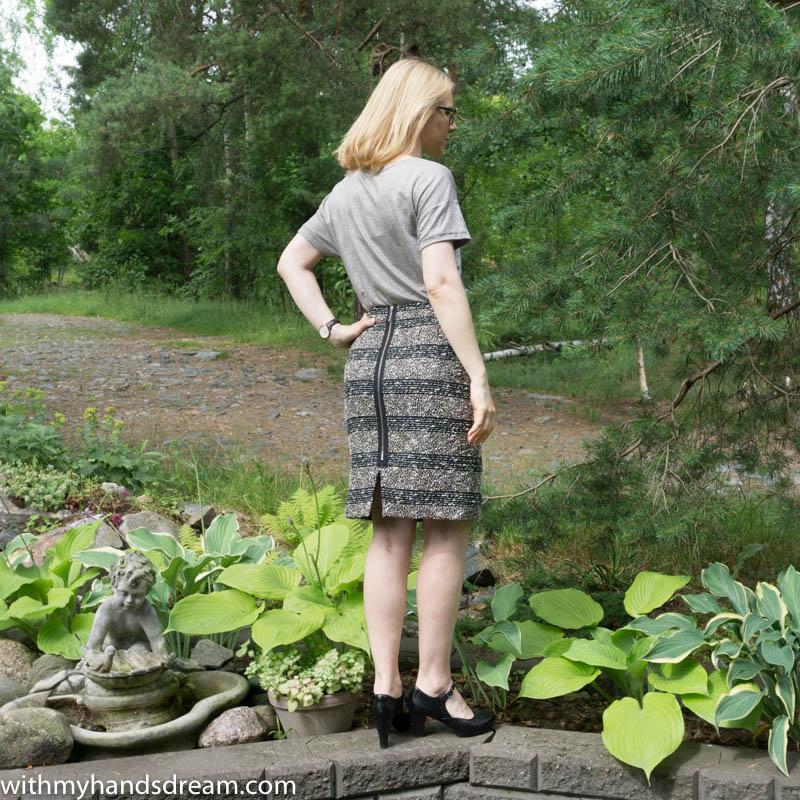 Image: Lekala #5088 pencil skirt