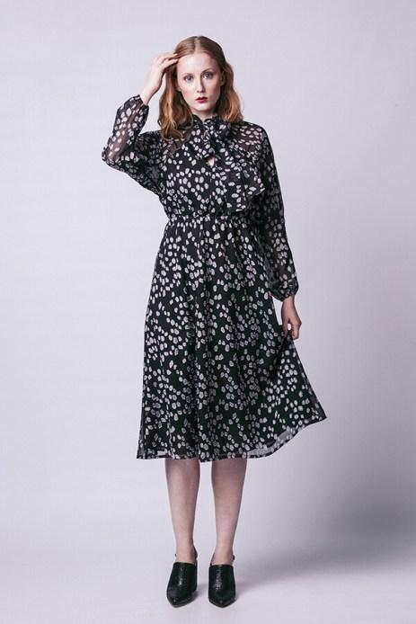 Image: Stella raglan shirt and a dress by Named clothing