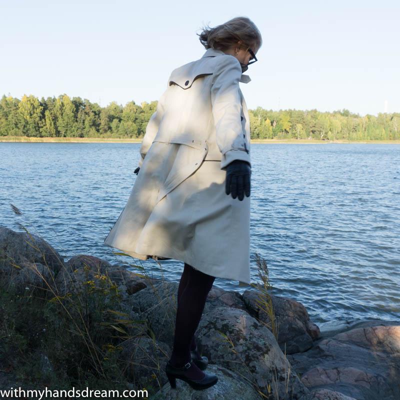 Image: Walking on the sea side.