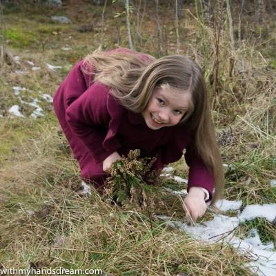 S found snow!
