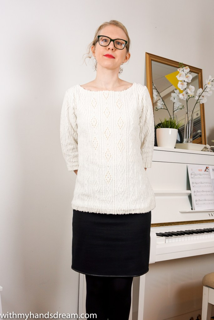 Beaded Tilly and the Buttons Coco sweater