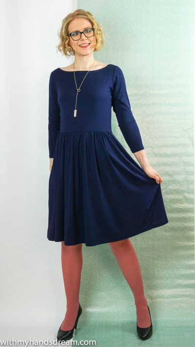 Moneta dress by Colette patterns.