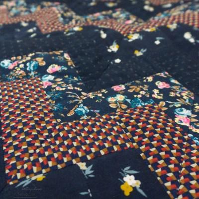 Baby quilt detail