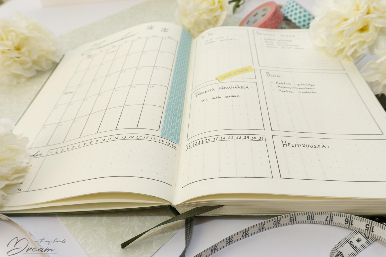 Bullet Journal for January