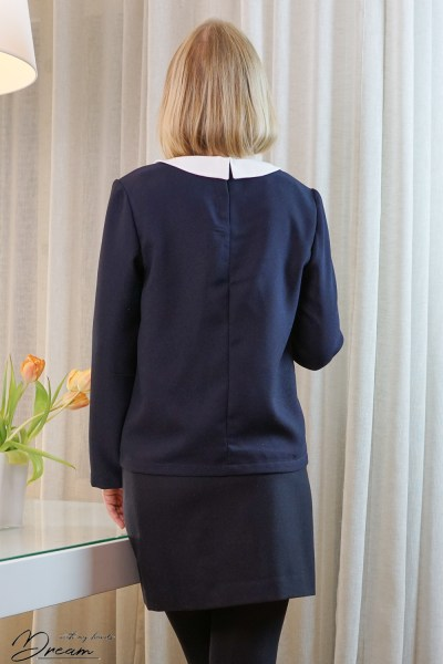 I am Orion blouse from the back.