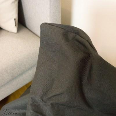 Bean bag: fabric detail.