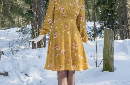 Amelia Tea Dress by Simple Sew patterns.