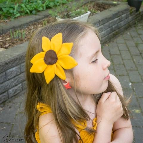 The hair flower