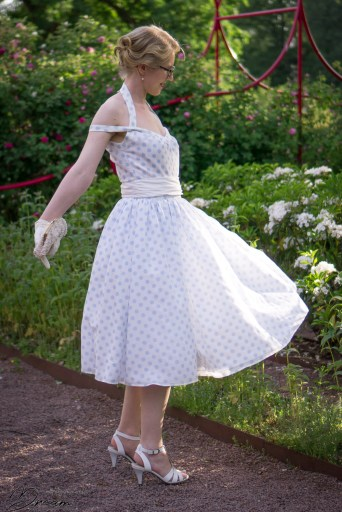 McCalls M7748 dress from the archive collection.