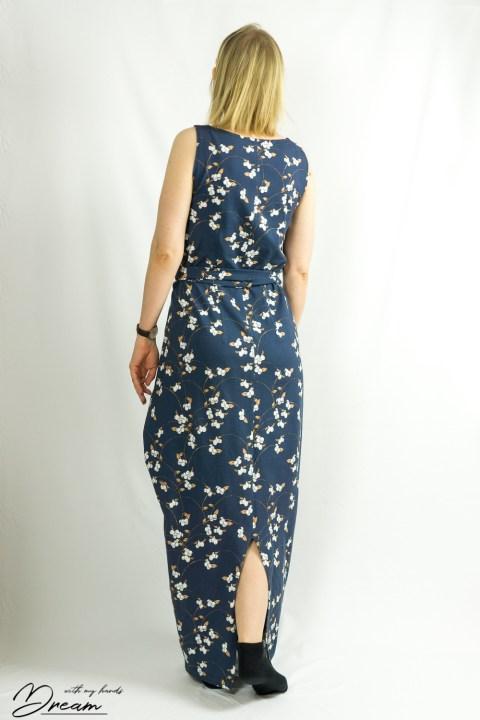 Named clothing Kielo dress from the back.