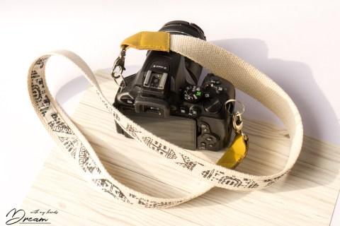 Camera strap, view 2.