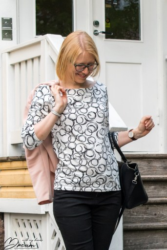 My Sew Over It Edie top.