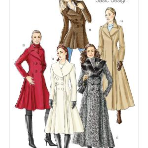 Vogue patterns V8346 that I'm going to use for my wool coat.
