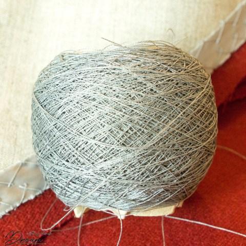 My ball of Gütermann hand silk.