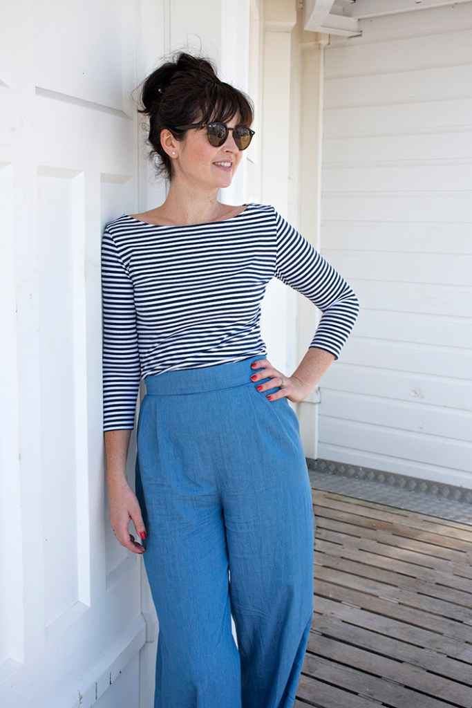Camille trousers pattern by Sew Over It. ©sewoverit with permission.