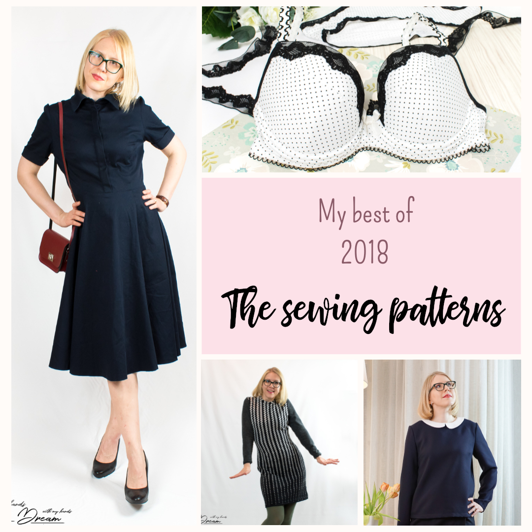 The best of sewing 2018, part 1: patterns