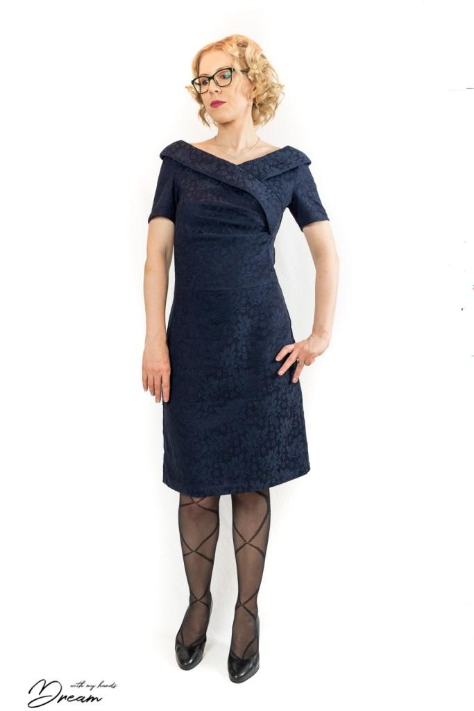 Lekala #4484 dress.