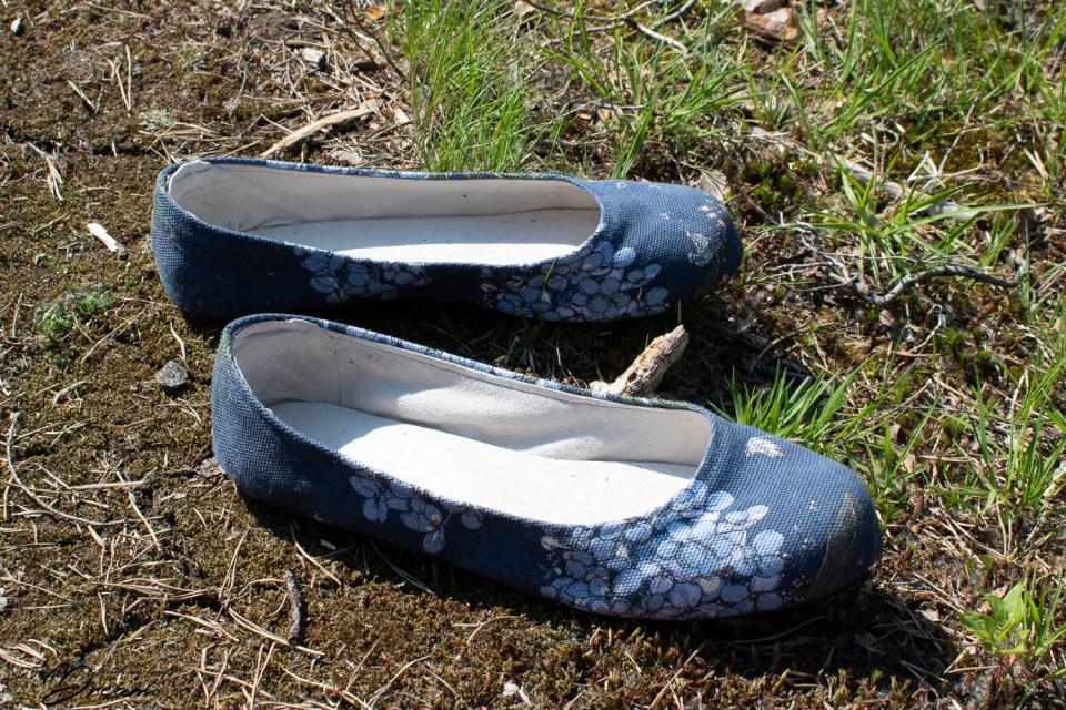 Shoemaking at home: The end result!