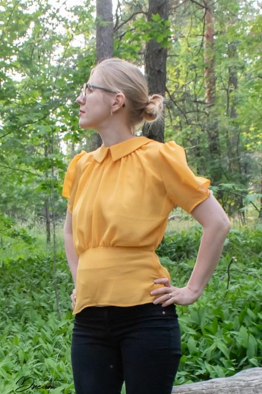 1930s blouse.
