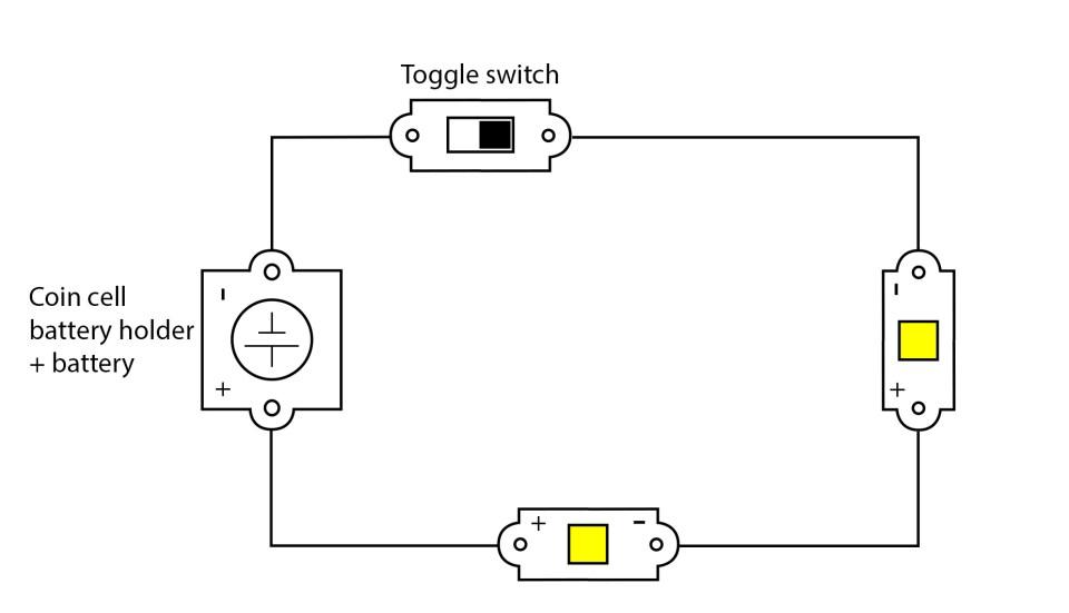 A series circuit.