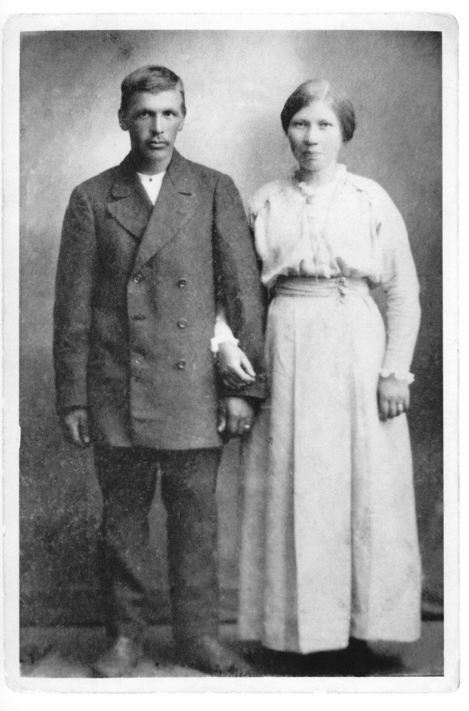 My great-grandparents Anna and Paavo.
