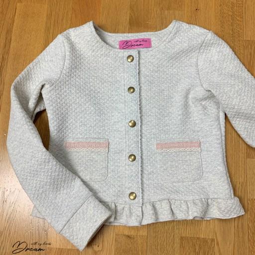 The finished Elokuu jacket.