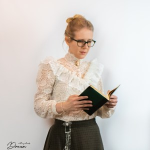 My lace blouse.
