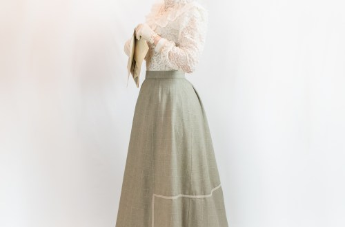 1902 Finnish walking skirt