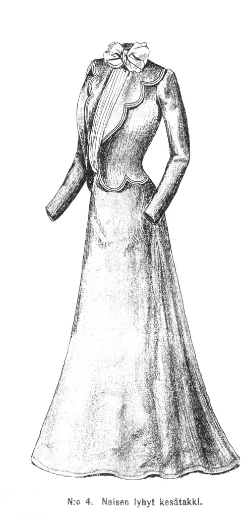1901 summer jacket drawing.