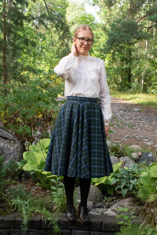 Another front view of the Victoria blouse.