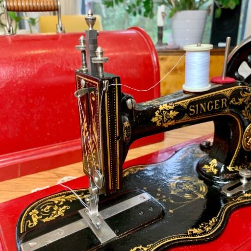 My Singer 12 sewing machine.