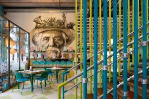 Wahaca Mexican market eating