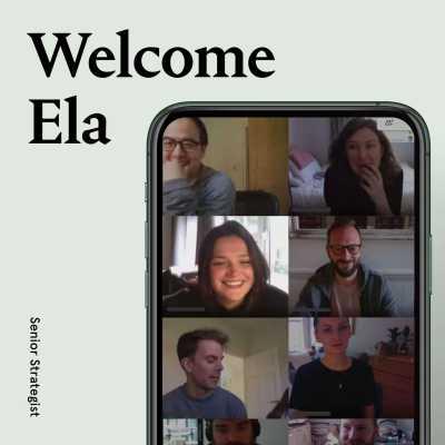 A big welcome