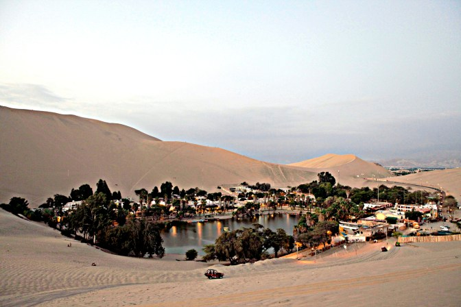 The famous Oasis of Huacachina.