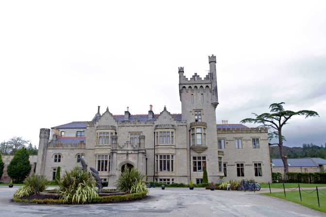 The Lough Eske Castle in County Donegal, Ireland