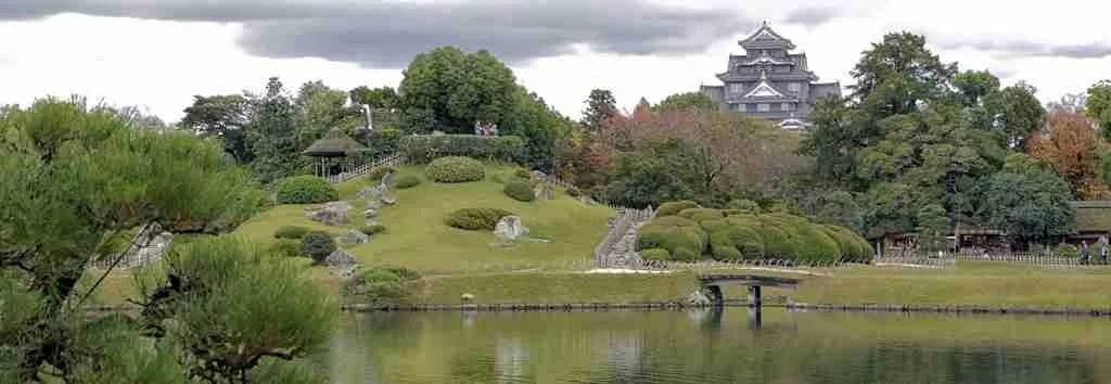 Okayama Castle View Japan