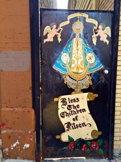 Artistic sign in Pilsen Chicago