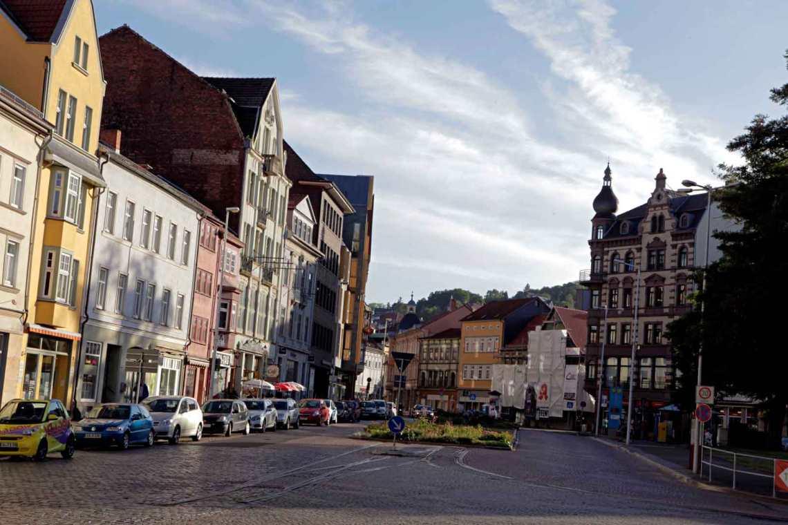 Eisenach, Germany Streetview